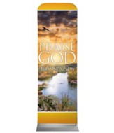 Blessings Flow 2' x 6' Fabric Sleeve Banner