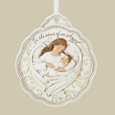 Arms Of An Angel Crib Medal