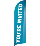 Family You're Invited Flag Banner