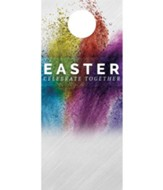 Easter Powder Paint Door Hanger, Pack of 150