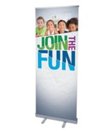 VBS Green Blue Red (31 inch x 79 inch) RollUp Banner