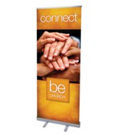 Be the Church Connect (31 inch x 79 inch) RollUp Banner