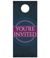 Together Circles Welcome Door Hanger, Pack of 150