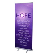 Advent Luke 2 Hope (31 inch x 79 inch) RollUp Banner