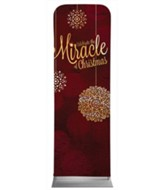 Celebrate the Miracle 2' x 6' Fabric Sleeve Banner