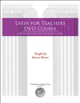 Latin for Teacher's Training Course (DVDs & Notebook)