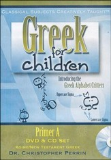 Greek for Children Primer A CD/DVD Series