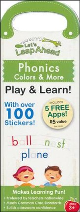 Let's Leap Ahead: Phonics, Colors & More Play & Learn!