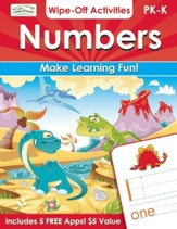 Numbers Wipe-Off Activities: Make Learning Fun!
