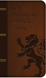 New Testament and Psalms for Men, Imitation Leather