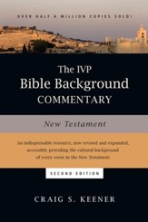 The IVP Bible Background Commentary: New Testament / Revised - eBook
