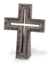 For God So Loved the World Cross, Small