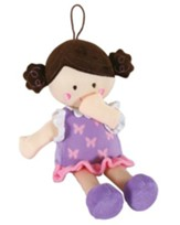 Brunette Knotty Doll, Purple