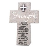 Strength Wall or Desktop Cross, Small