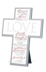 It Is Written, Love tabletop Cross