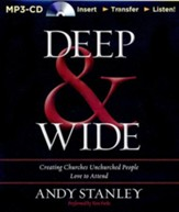 Deep & Wide Unabridged MP3-CD