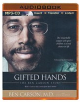 Gifted Hands: The Ben Carson Story - unabridged audiobook on MP3-CD