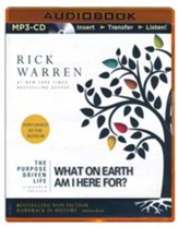 The Purpose Driven Life: What on Earth Am I Here For? - unabridged audiobook on MP3-CD