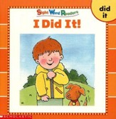 Sight Word Readers: I Did It!