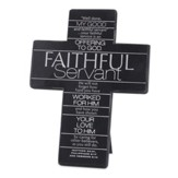 Faithful Servant Cross, Gray