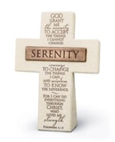 Serenity Prayer Cross