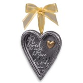 Everlasting Love (John 3:16), Heart of Hope Ornament