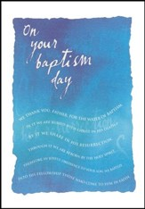 Adult Baptism Cards