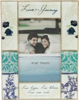 Love is a Journey, Glass Photo Frame