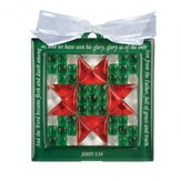 Star Crossed Christmas, Quilt Block Ornament