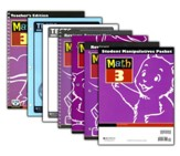 BJU Math Grade 3 Homeschool Kit, Updated Third Edition