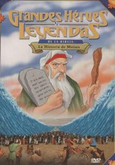 La Historia de Moises, Grandes Heroes y Leyendas de la Biblia  (Moses, Great Heroes and Legends of the Bible), DVD
