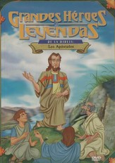 Los Apóstoles, Grandes Héroes y Leyendas de la Biblia  (The Apostles, Great Heroes and Legends of the Bible), DVD