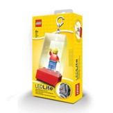 LEGO Lighted Mini Figure Key Chain, Red