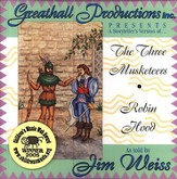 A Storytellers Version of the 3 Musketeers & Robin Hood Audio CD