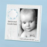 Beloved Godchild Photo Frame, Blue