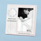 Beloved Godparent Photo Frame, Pink