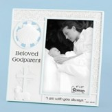 Beloved Godparent Photo Frame, Blue