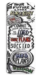 Graduate, Commit Your Plans to the Lord--Bookmark