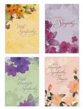 Sympathy, Watercolors Cards, Box of 12