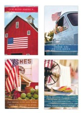 Honoring Heroes, Flags Cards, Box of 12