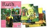 Abeka Ruth Flash-a-Card Set (for use with Giants of Faith  Middler Grades 3-4 Sunday School Curriculum)