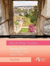 Adult Bible Studies Spring 2014 Teacher - eBook
