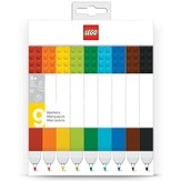 LEGO Markers, Pack of 9
