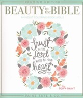 Beauty In The Bible Adult Coloring Book Volume 2 Premium