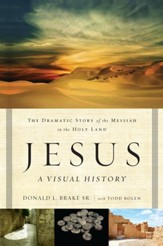 Jesus A Visual History: The Dramatic Story of the Messiah in the Holy Land - Slightly Imperfect