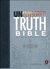 NLT The Uncensored Truth Bible for New Beginnings, Paper  - Slightly Imperfect