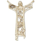 A Risen Christ Wall Cross