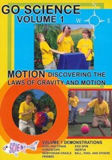 Motion: Discovering the Laws of Gravity and Motion DVD