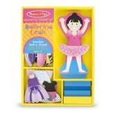 Leah Ballerina, Magnetic Dress Up Set