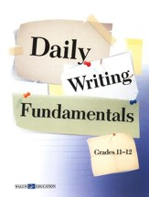 Daily Writing FUNdamentals, Grades 11-12